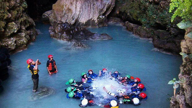 Cave Tubing di Goa Kalisuci, DIY 1