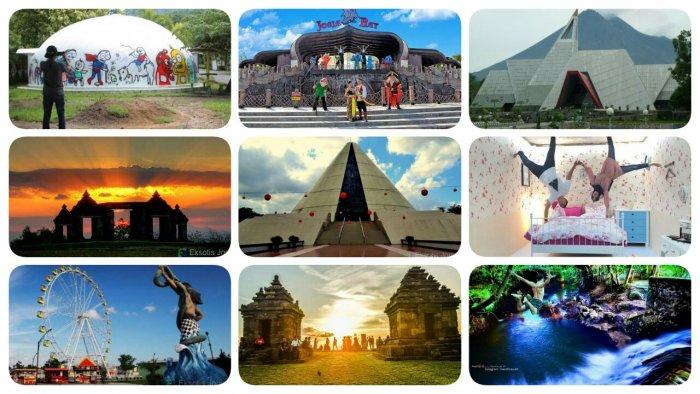 Tempat Wisata Jogja Foto 3 Dimensi Peta Wisata Indonesia Dan Luar Negeri
